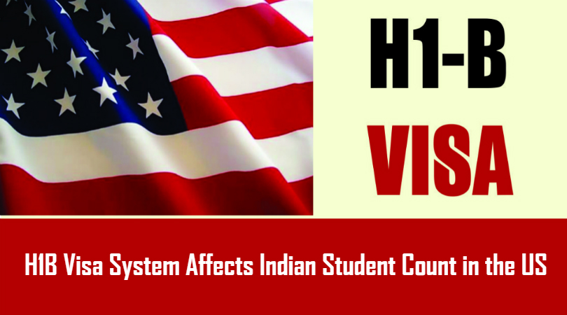 H1B Visa System Affects Indian Student Count in the US